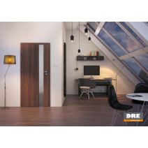 Interiérové dveře DRE Vetro D1